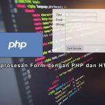 Pemprosesan Form dengan PHP dengan Metode GET